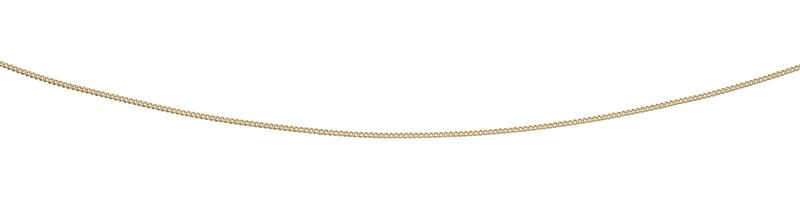 9ct Yellow Gold Curb With Extender Chain