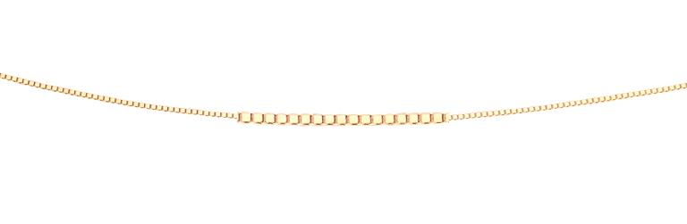 9ct Yellow Gold Venetian Box Chain