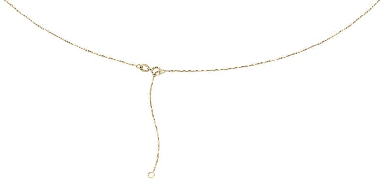 9ct Yellow Gold Venetian Box Chain With Extender