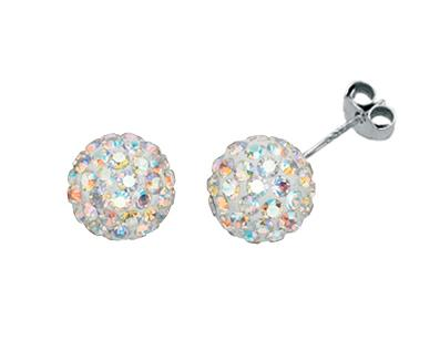 AB Crystal Fantasy Set Stud Earrings