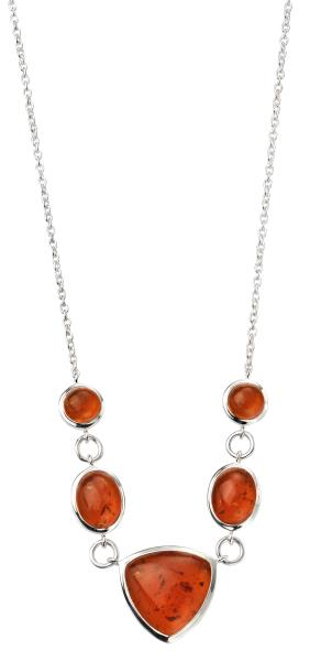 Amber Multi Shaped Necklace