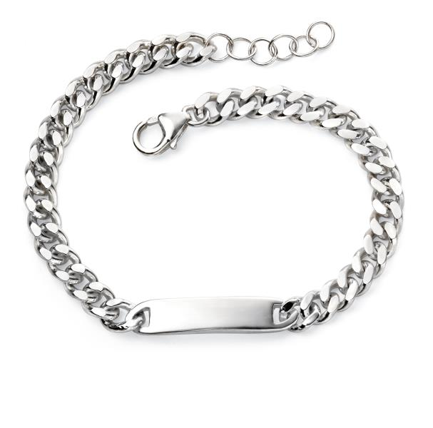 Childrens ID Bar Bracelet