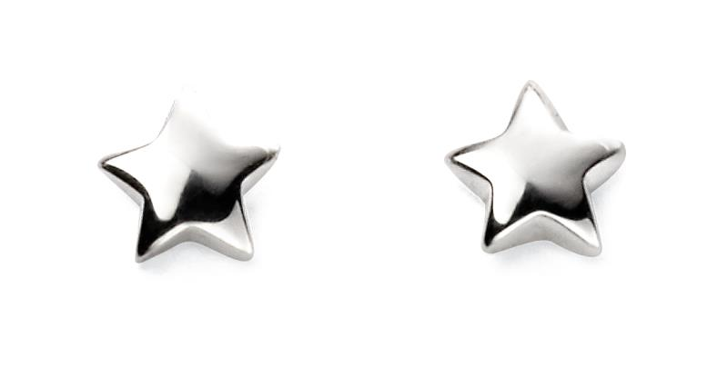 Childrens Star Stud Earrings