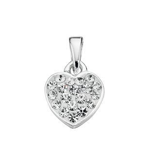 Clear Crystal Fantasy Set Heart Pendant