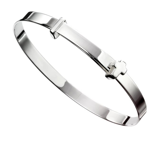 Cross Baby Bangle