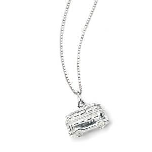 D For Diamond Childs London Bus Necklace