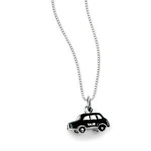 D For Diamond Childs Taxi Necklace
