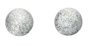 Diamond Cut Large Ball Studs