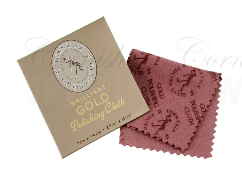 Gold Polishing Cloth 7cm x 14cm