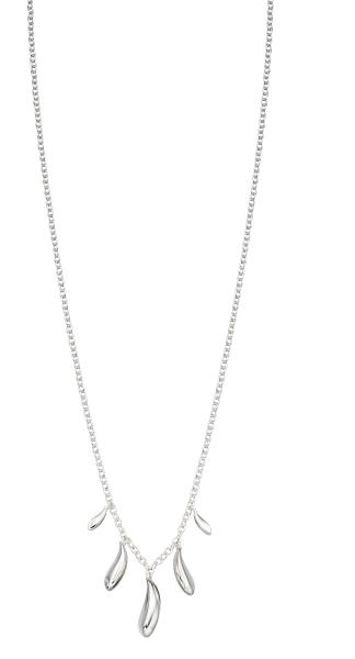 Highly Polished Dew Drop Necklace