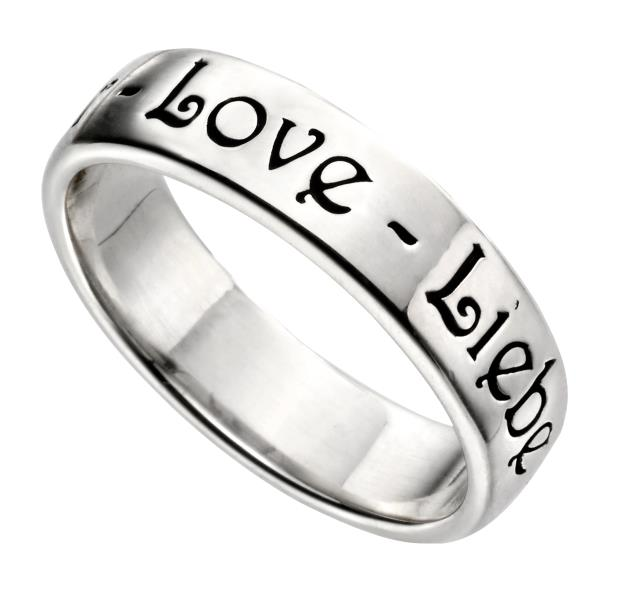 L'amour Band Ring