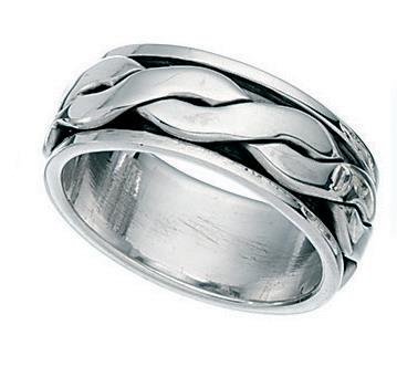 Motion Celtic Band Ring