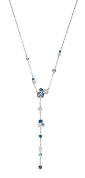 Ombre Blue And Opal SWAROVSKI Design Necklace