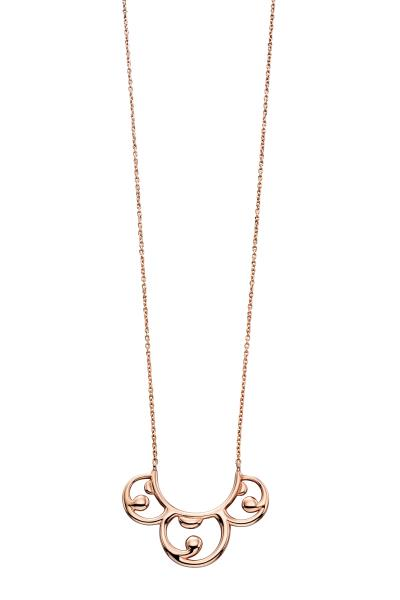 Rose Gold Baroque Necklace
