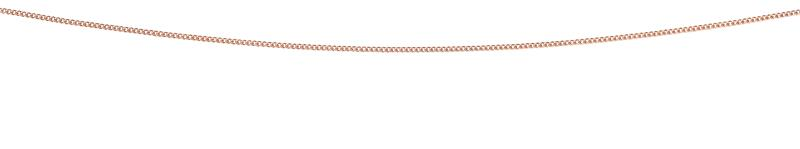 Rose Gold Curb Chain