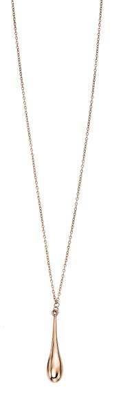 Rose Gold Long Drop Necklace