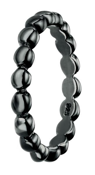 Ball Band With Polished Oxidised Plating