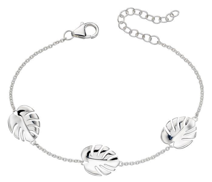 Silver Cheese Plant Bracelet