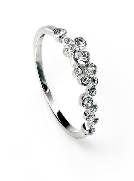 Clear Swarovski Cluster Ring