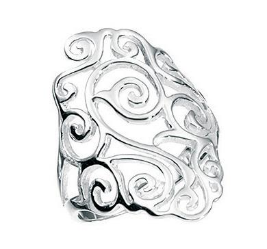 Diamond Shape Filigree Ring