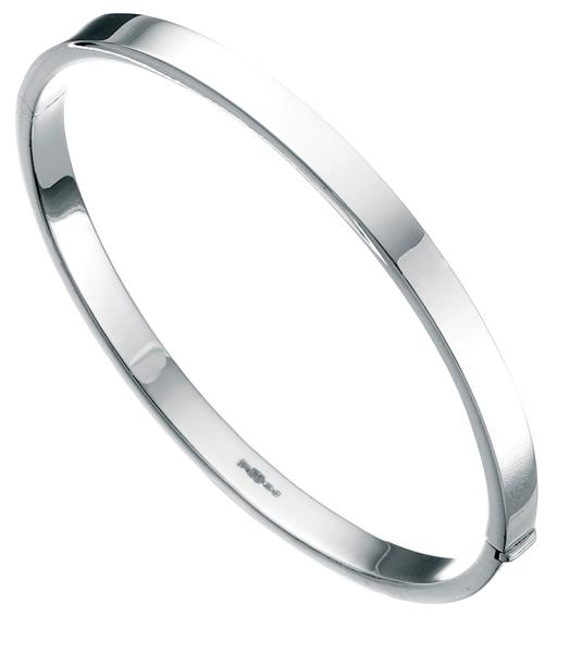 Square-Cut 5Mm Bangle