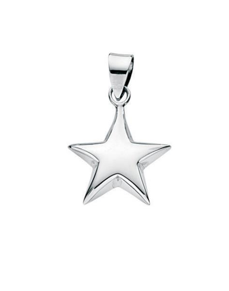 Small Puffed Star Pendant