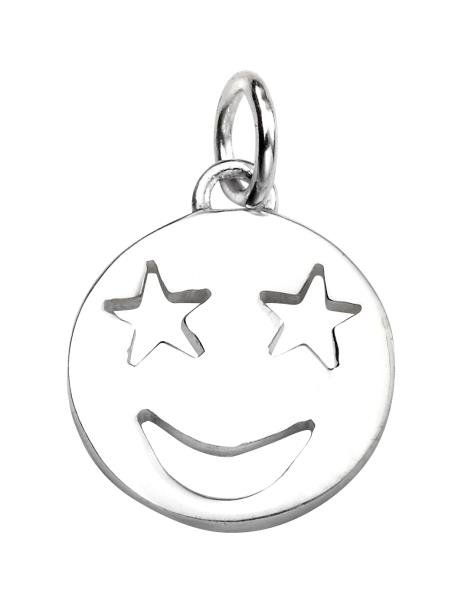 Star Eyes Emoji Pendant