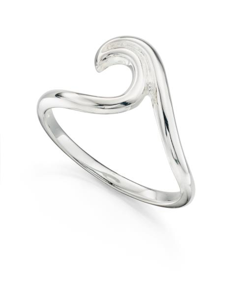Sterling Silver Wave Ring Surfer Ring