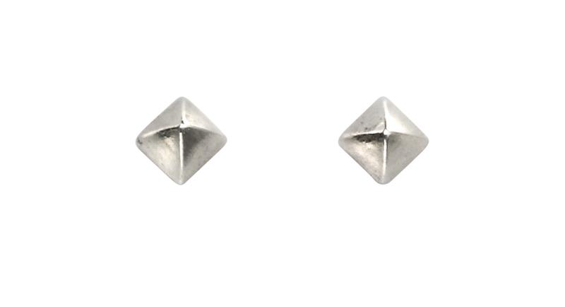 Tiny Pointed Square Studs