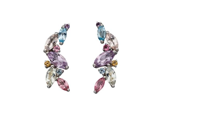 White Gold BT-Pastel Re-Colour Earrings