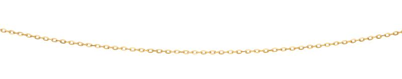Yellow Gold Cable Flattened Chain